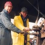 Firemen-Cliff Pennick, 1917 - 1999 and Richard Dick, 1924 - 2000