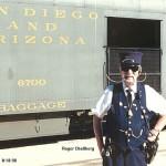 Trainman-Roger Challberg 7/15/1930 - 1/5/2011
