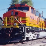 DASH9-44CW was delivered to BNSF on 5-7-99