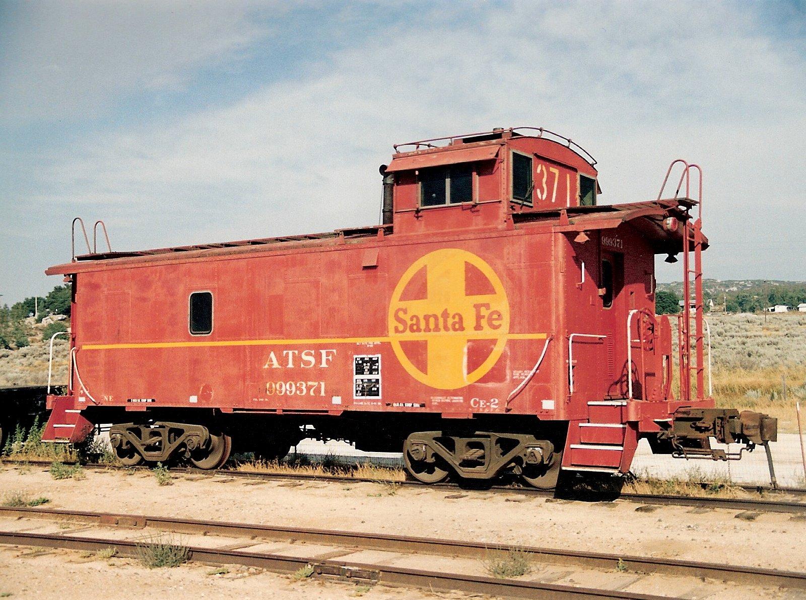 Atchison Topeka Amp Santa Fe Railway 999371 Pacific