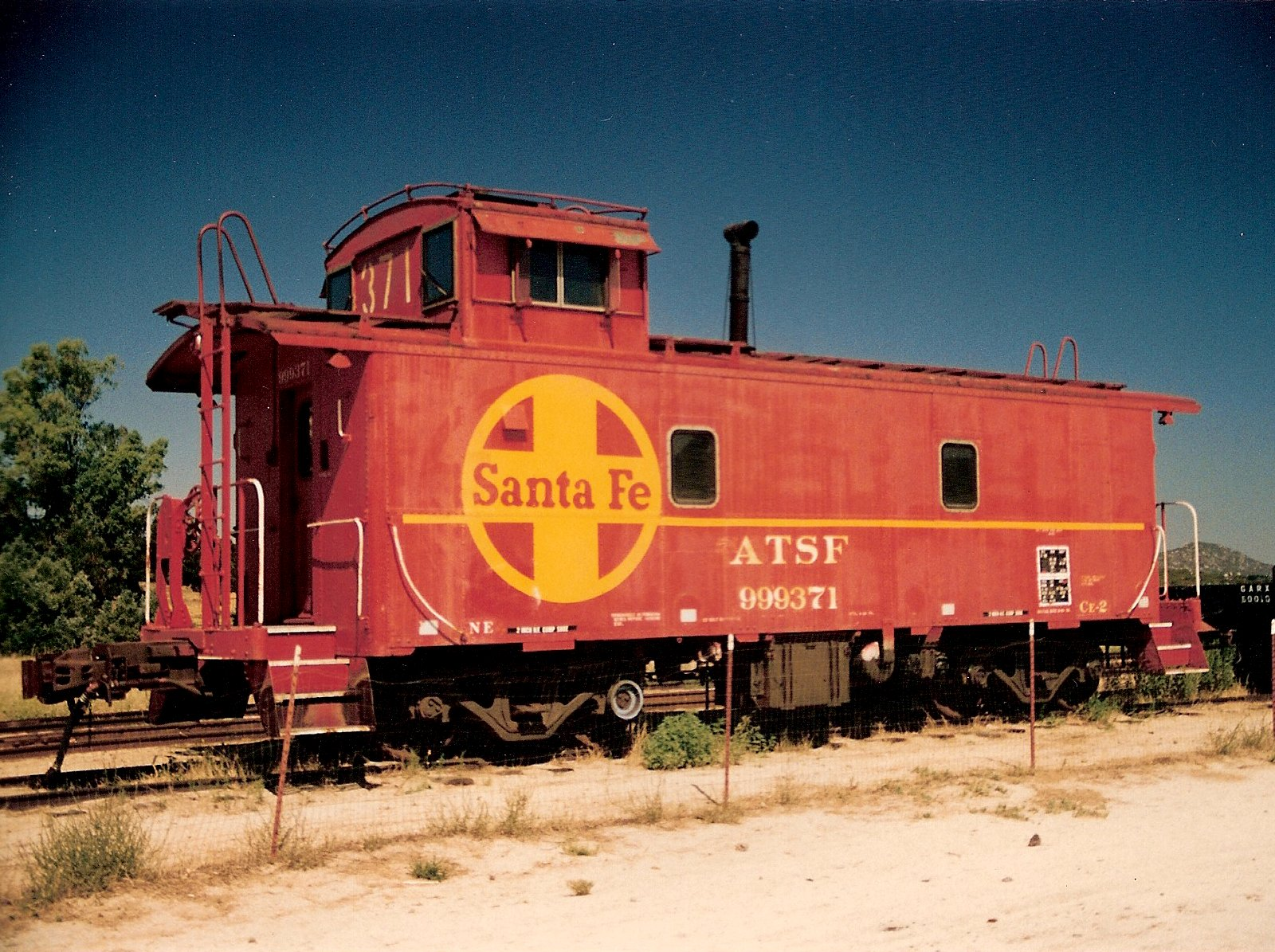 Atchison Topeka Amp Santa Fe Railway 999371 Pacific