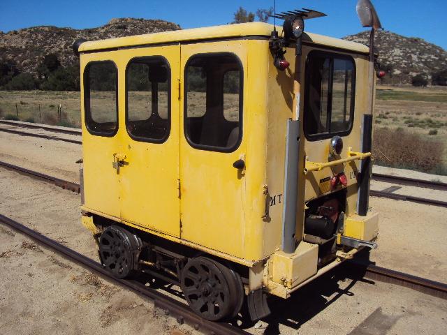 Fairmont MT14-M Speeder – UP 2644 – Pacific Southwest Railway Museum