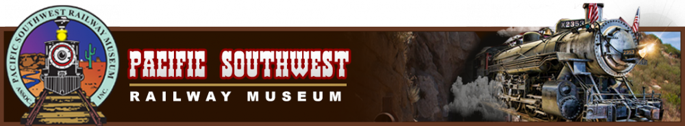 Pacific Southwest Railway Museum Banner