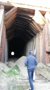 A closer look at the decay of Tunnel 4's west portal.