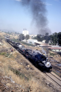 The first Great Freight passing through Mexico