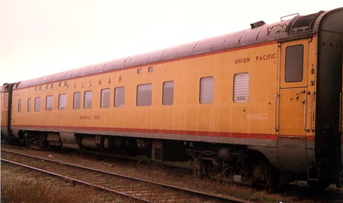 Imperial Bird shown as purchased by PRS from the UP. Photo taken in Mira Loma in December of 1969 where several of her sister cars were also in storage.