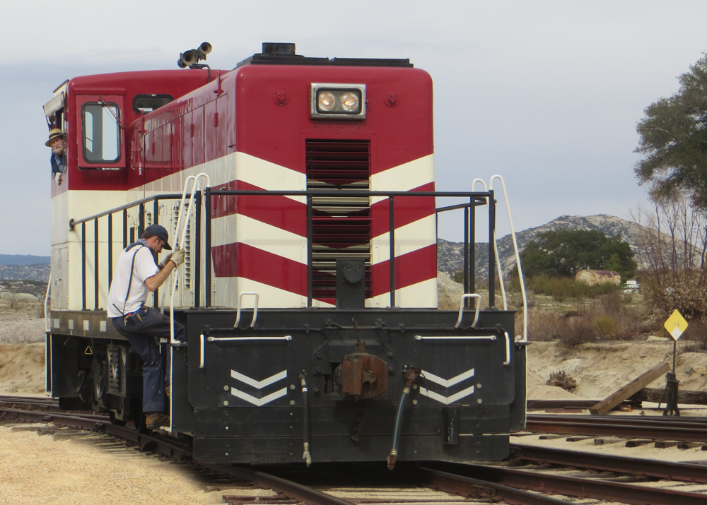 Volunteer with Train Operations – Pacific Southwest Railway Museum
